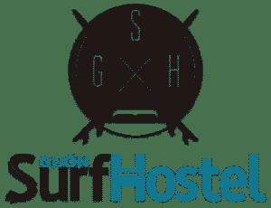 Logo a color de Gijon Surf Hostel