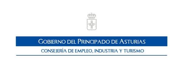 Logo Principado de Asturias, Colaborador de Gijon surf hostel