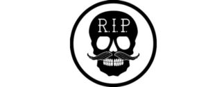 Logo Rest in Peace - Marca Gijón Surf Hostel