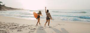 Fotos chicas surferas Gijón