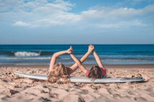 campamento surf niños